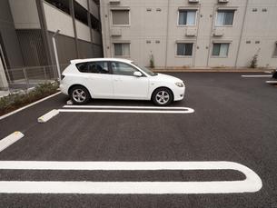 駐車場の写真素材 [FYI01184590]