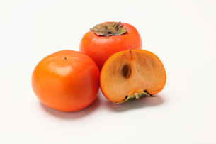 柿,カキの写真素材 [FYI01185076]