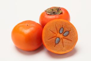 柿,カキの写真素材 [FYI01185077]