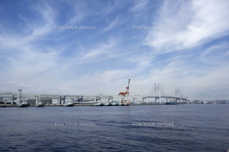 港の風景の写真素材 [FYI01185296]