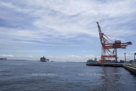 港の風景の写真素材 [FYI01185297]
