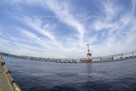 港の風景の写真素材 [FYI01185299]