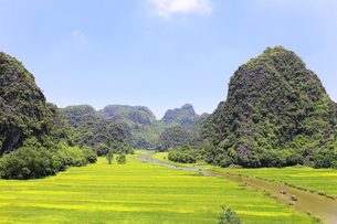 タムコックの景観 ベトナムの写真素材 [FYI01185302]