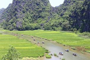 タムコックの景観 ベトナムの写真素材 [FYI01185305]