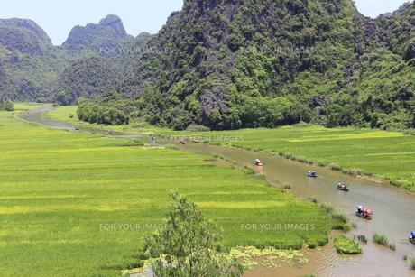 タムコックの景観 ベトナムの写真素材 [FYI01185307]