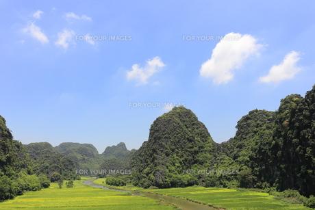 タムコックの景観 ベトナムの写真素材 [FYI01185313]