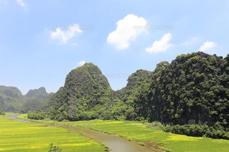 タムコックの景観 ベトナムの写真素材 [FYI01185314]