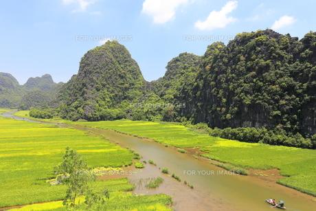 タムコックの景観 ベトナムの写真素材 [FYI01185316]