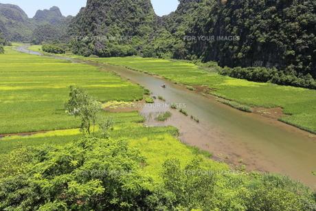 タムコックの景観 ベトナムの写真素材 [FYI01185323]