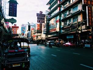 China town in Bangkokの写真素材 [FYI01185483]