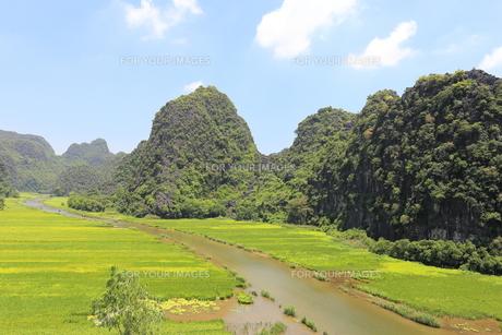 タムコックの景観 ベトナムの写真素材 [FYI01185521]