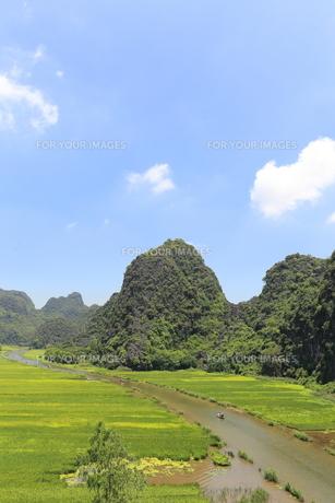タムコックの景観 ベトナムの写真素材 [FYI01185523]