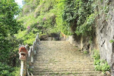 タムコックの景観 ハンムア、ベトナムの写真素材 [FYI01185532]