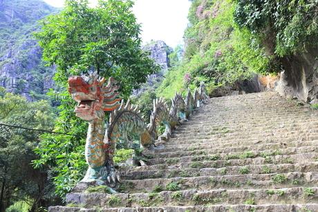 タムコックの景観 ハンムア、ベトナムの写真素材 [FYI01185533]