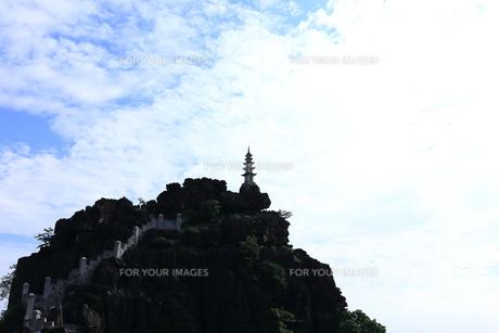 タムコックの景観 ハンムア、ベトナムの写真素材 [FYI01185536]