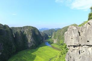 タムコックの景観 ハンムア、ベトナムの写真素材 [FYI01185543]