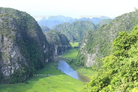 タムコックの景観 ハンムア、ベトナムの写真素材 [FYI01185544]