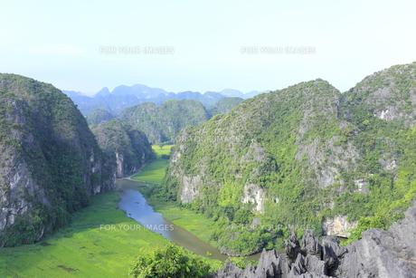 タムコックの景観 ハンムア、ベトナムの写真素材 [FYI01185545]