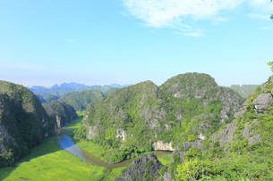 タムコックの景観 ハンムア、ベトナムの写真素材 [FYI01185548]