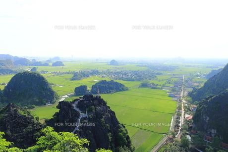タムコックの景観 ハンムア、ベトナムの写真素材 [FYI01185551]