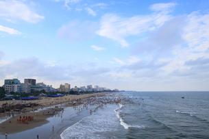 サムソンビーチ、タインホア、ベトナムの写真素材 [FYI01185555]