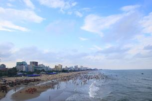 サムソンビーチ、タインホア、ベトナムの写真素材 [FYI01185556]