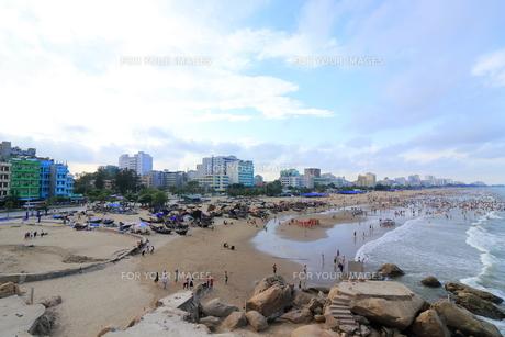 サムソンビーチ、タインホア、ベトナムの写真素材 [FYI01185557]