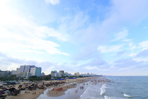 サムソンビーチ、タインホア、ベトナムの写真素材 [FYI01185558]