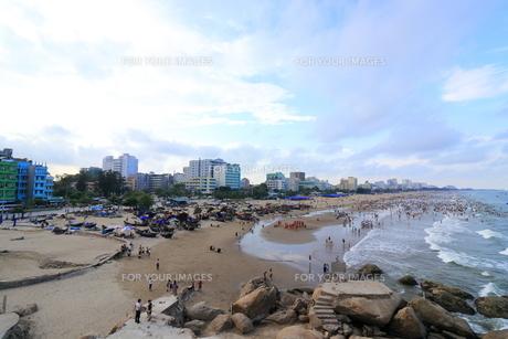 サムソンビーチ、タインホア、ベトナムの写真素材 [FYI01185560]