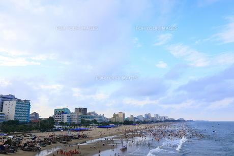 サムソンビーチ、タインホア、ベトナムの写真素材 [FYI01185565]