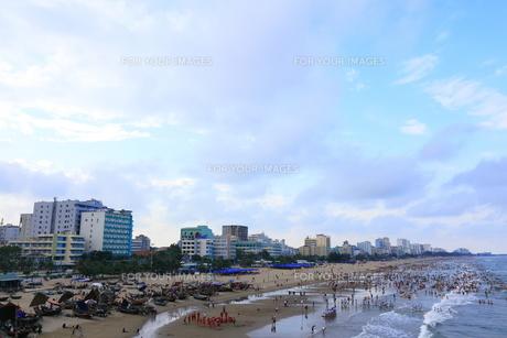 サムソンビーチ、タインホア、ベトナムの写真素材 [FYI01185566]