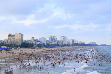 サムソンビーチ、タインホア、ベトナムの写真素材 [FYI01185568]