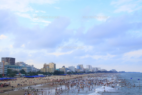 サムソンビーチ、タインホア、ベトナムの写真素材 [FYI01185570]