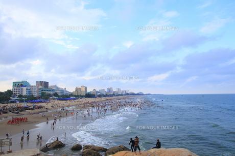 サムソンビーチ、タインホア、ベトナムの写真素材 [FYI01185571]