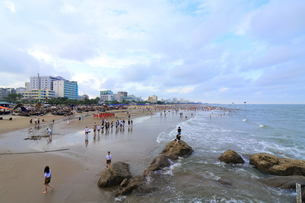 サムソンビーチ、タインホア、ベトナムの写真素材 [FYI01185576]