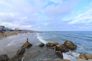 サムソンビーチ、タインホア、ベトナムの写真素材 [FYI01185577]