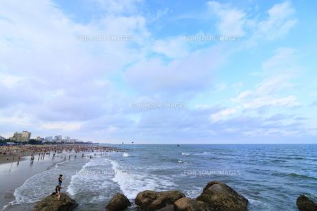 サムソンビーチ、タインホア、ベトナムの写真素材 [FYI01185578]