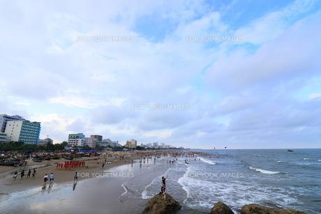 サムソンビーチ、タインホア、ベトナムの写真素材 [FYI01185579]