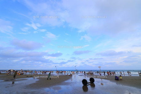 サムソンビーチ、タインホア、ベトナムの写真素材 [FYI01185582]