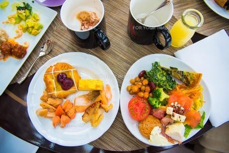 素敵な朝食の写真素材 [FYI01185639]
