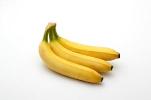 バナナ,白バックの写真素材 [FYI01185806]