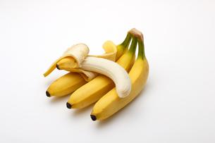 バナナ,白バックの写真素材 [FYI01185808]