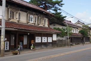 蔵の町 喜多方の町並みの写真素材 [FYI01185929]