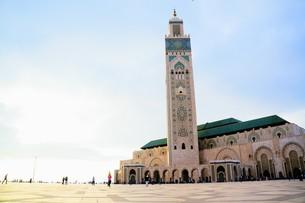 ハッサン2世モスクの写真素材 [FYI01186168]
