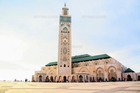 ハッサン2世モスクの写真素材 [FYI01186170]
