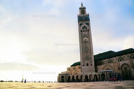 ハッサン2世モスクの写真素材 [FYI01186176]