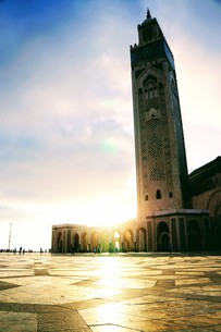 ハッサン2世モスクの写真素材 [FYI01186184]