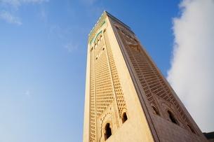 ハッサン2世モスクの写真素材 [FYI01186194]