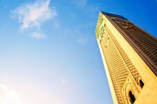 ハッサン2世モスクの写真素材 [FYI01186196]