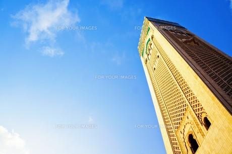 ハッサン2世モスクの写真素材 [FYI01186197]